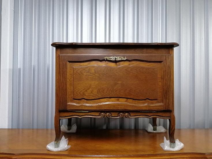 Small Oak Cabinet With Dropdown Door (Spirits Cabinet) - SOLD