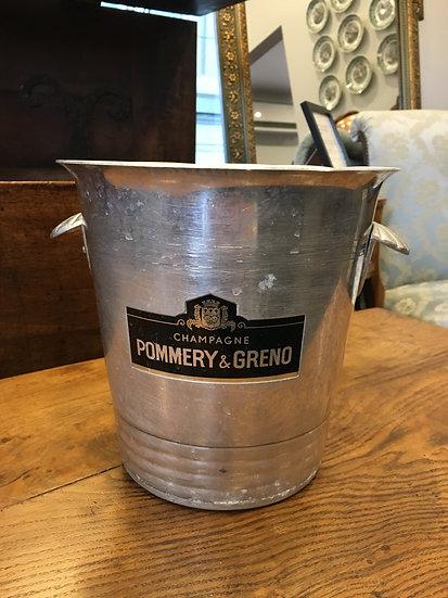 Champagne Bucket - Pommery & Greno - SOLD