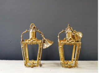 Pair of Entrance Ceiling Lights - SOLD