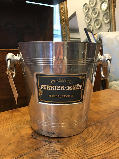 Champagne Bucket - Perrier Jouët (Epernay) - SOLD