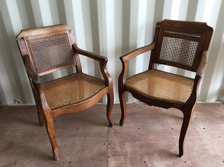 A Pair of 19th Century Barber's Chairs - SOLD
