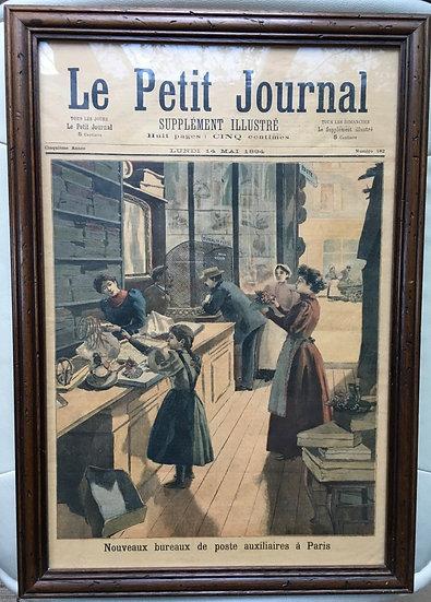 Illustration - Le Petit Journal - SOLD