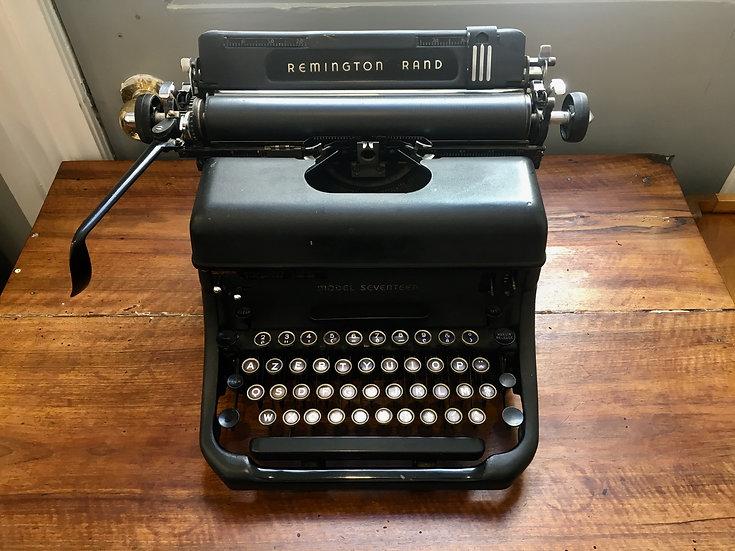Remington Typewriter - SOLD
