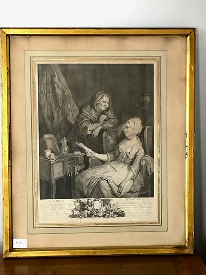 Etching & Engraving - La Mère Indulgente - SOLD
