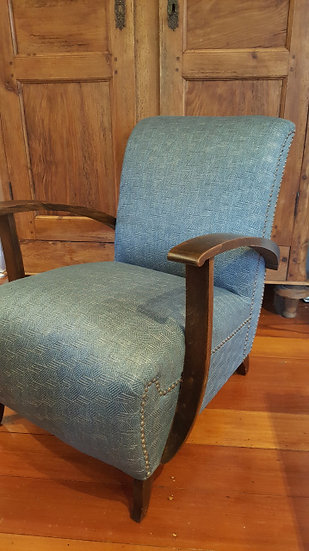 French 1930s Armchair With New Fabric from the Casamance House of Fabrics - SOLD
