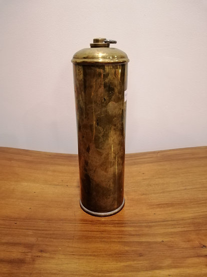 Brass Thermos Water Bottle