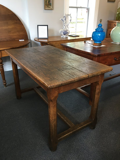 Rustic Oak Dining or Kitchen Table - SOLD