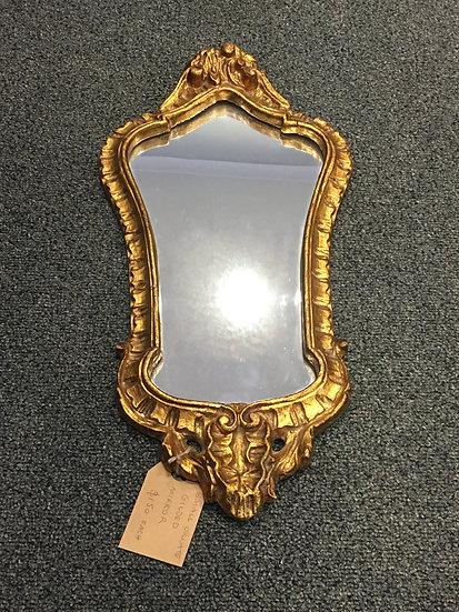 Small Gilded Mirror (2 of 3) - SOLD