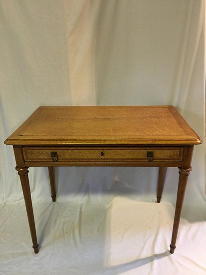 Lemon Tree Wood Veneer  Side Table or Desk - SOLD