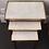 Thumbnail: Louis XVI (1775-1790) Style Gigogne Tables - White Marble Top - SOLD