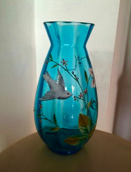 1920s Small Blue Vase - SOLD