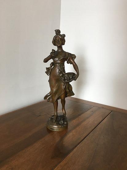 Bronze - La Bouquetière - SOLD