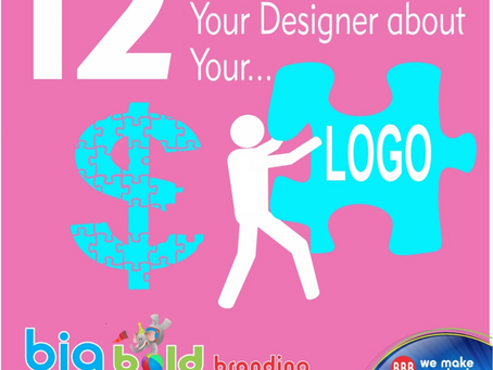 12 Questions to Ask your Designer about Your LOGO