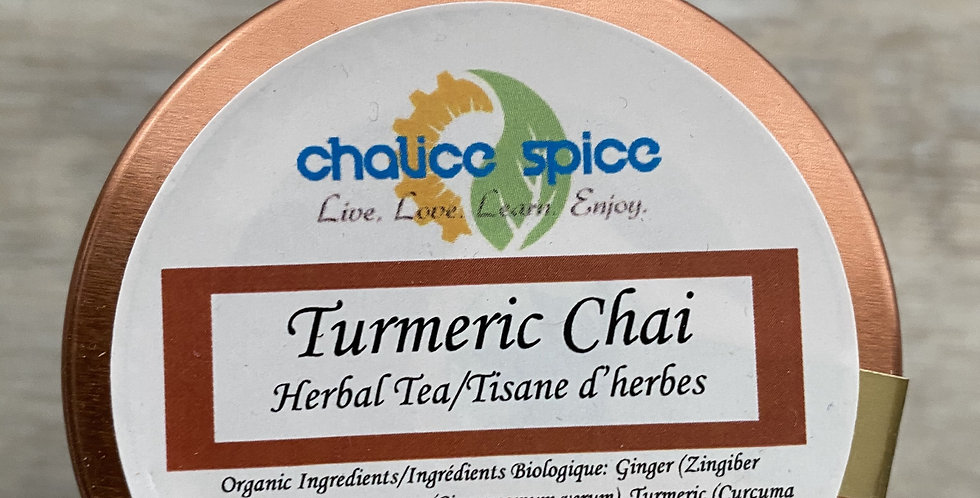 Tumeric Chai Tea