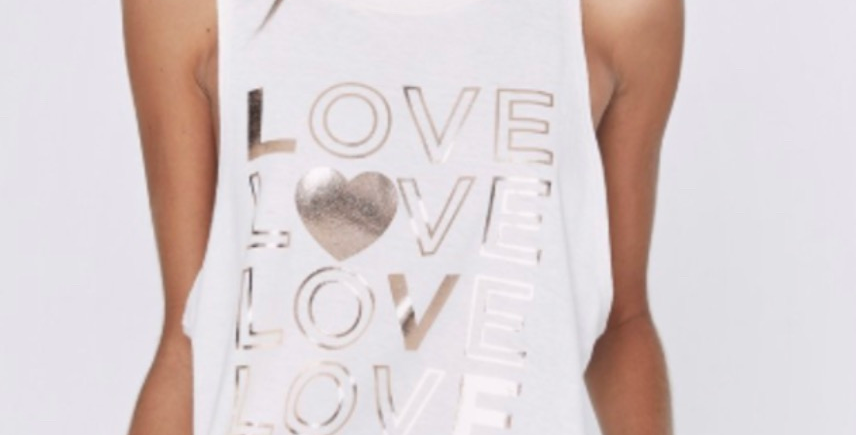 SG love muscle tank medium