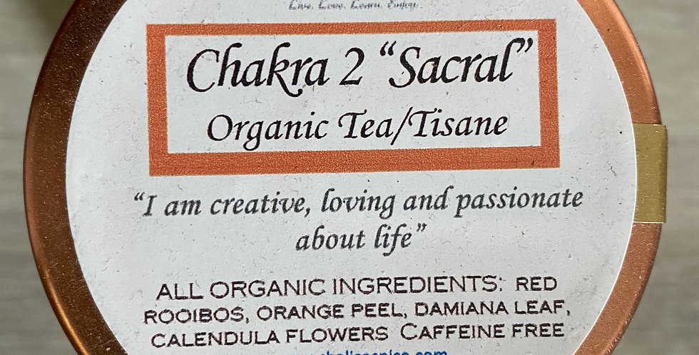 "Chakra 2 ""Sacral"" Tea"