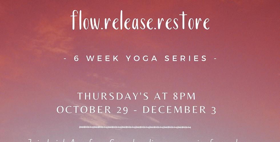 flow.release.restore 6 week online yoga series