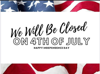 Just an FYI, the Southern Highlands Farmers Market will be closed in observance of the 4th of July.
