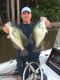 Lake Wateree Crappie Guide