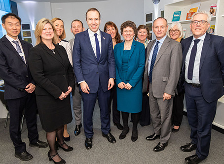 CCG led project to improve services at Finchley Memorial Hospital visited by Secretary of State.