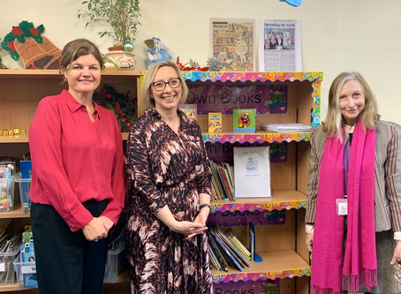 300 new books delivered to a school in Coventry