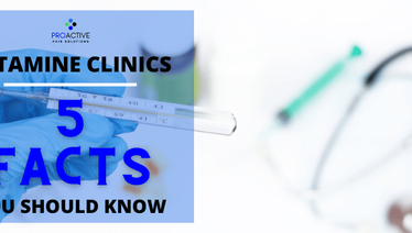 Ketamine Clinics: 5 facts you should know before you jump on the bandwagon.