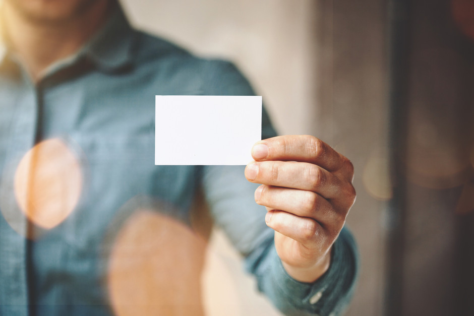 Cut the Clutter: What Goes on a Business Card?