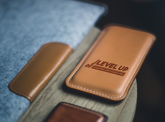 Level up Leather Phone case