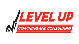 Level up coaching and consulting logo
