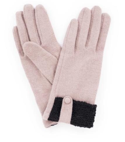 Powder - Monica Wool Gloves Camel