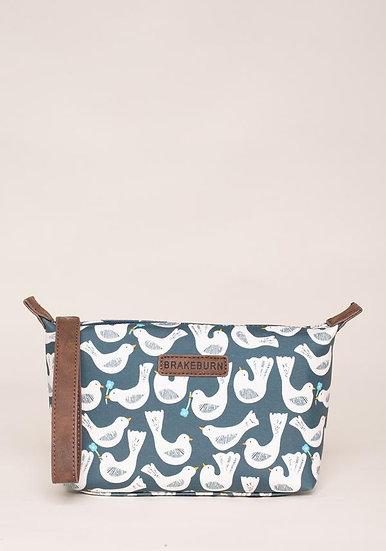 Brakeburn - Geo Birds Small Wash Bag