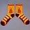 Thumbnail: Powder - Puffa Jacket Bunny Ankle Socks