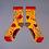 Thumbnail: Powder - Delicate Floral Ankle Socks