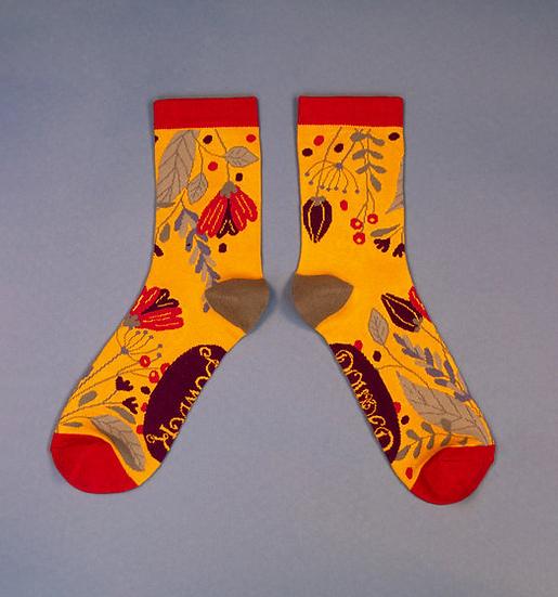 Powder - Delicate Floral Ankle Socks