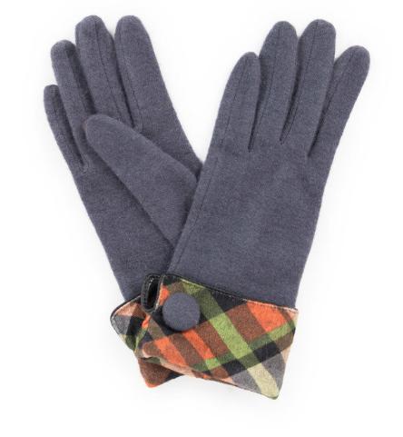 Powder - Heather Wool Gloves Charcoal