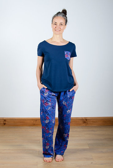 Lily & Me - Meadow Print Pyjama