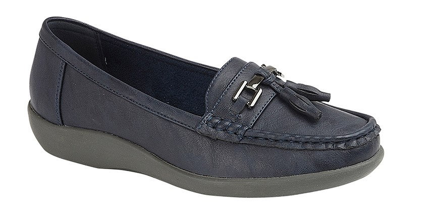 Boulevard - Navy Loafers