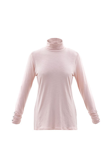 Marble Scotland - Pink Turtle Neck Tee