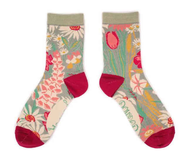 Powder - Country Garden Ankle Sock