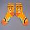 Thumbnail: Powder - Chill Sloth Ankle Socks