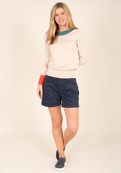 Brakeburn - Embroidered Shorts