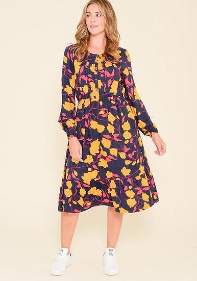 Brakeburn - Darcie Print Twill Shirt Dress