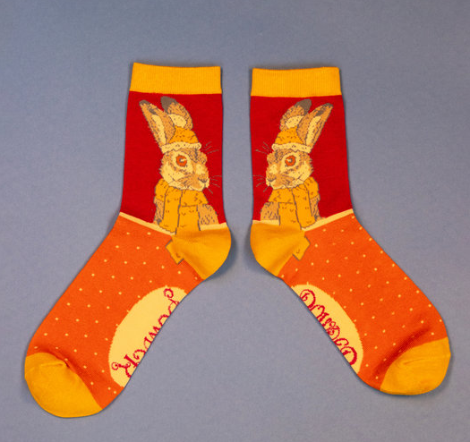 Powder - Cosy Hare Ankle Socks