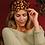 Thumbnail: Powder - Lavender Velvet Eye Mask Leopard Damson