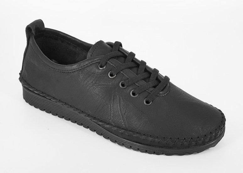 Mod Comfy - BlackSoftie Leather