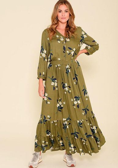 Brakeburn - Primrose Maxi Shirt Dress