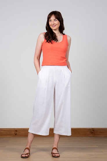 Lily & Me - Summer Trousers White