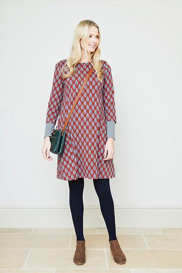 Lily & Me - Helen Dress Block Leaf