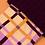 Thumbnail: Powder - Purple Check Boot Socks