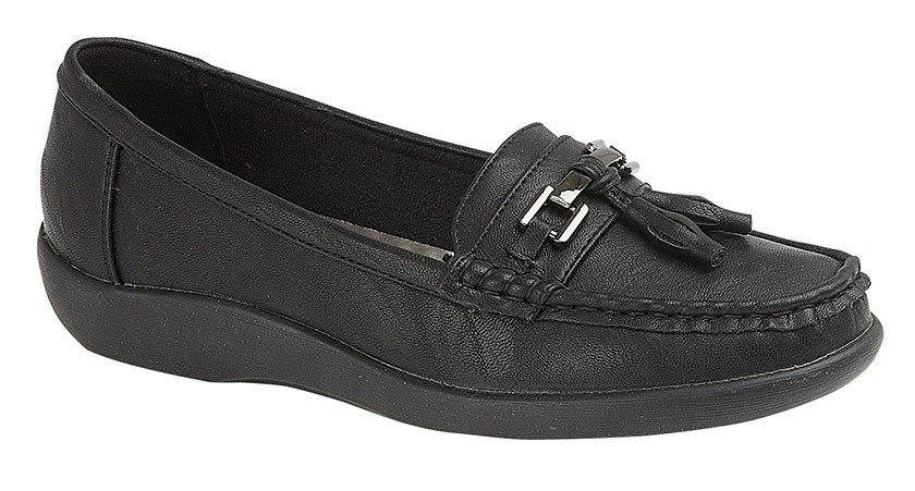 Boulevard - Black Loafers